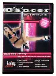 Secret Dancer DVD and Music CD Set