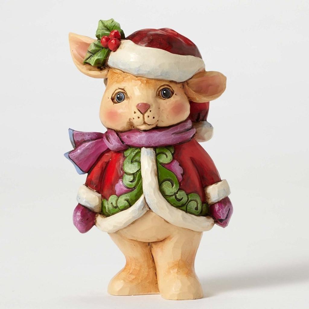 Jim Shore Heartwood Creek -  Pint Sized Christmas Bunny
