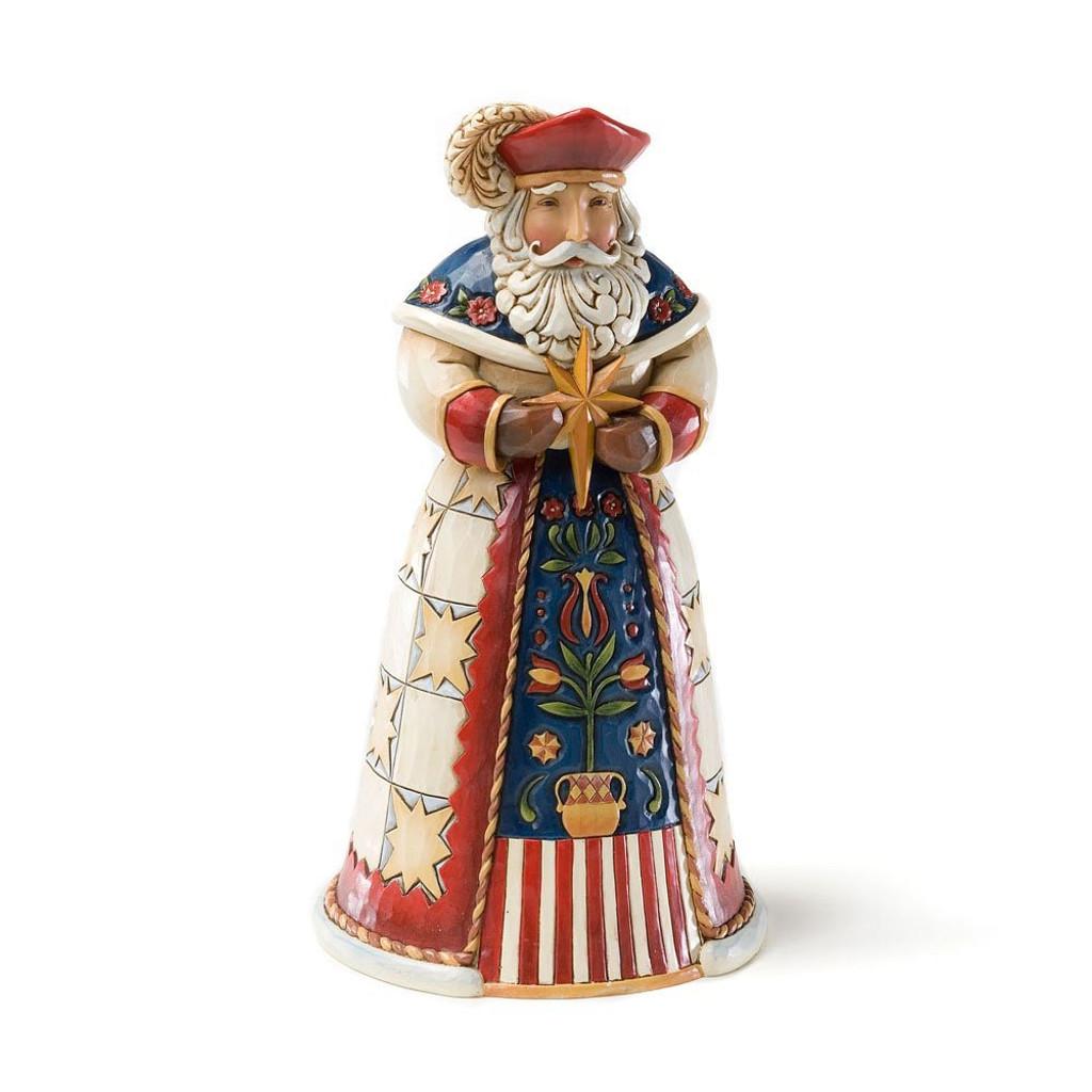 Jim Shore Heartwood Creek -  Polish Santa