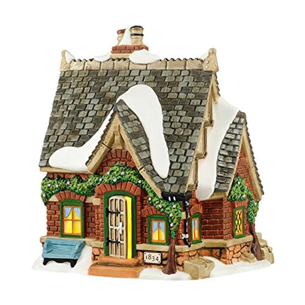 Department 56 - Dickens Village - Olde Vine Cottage Light House