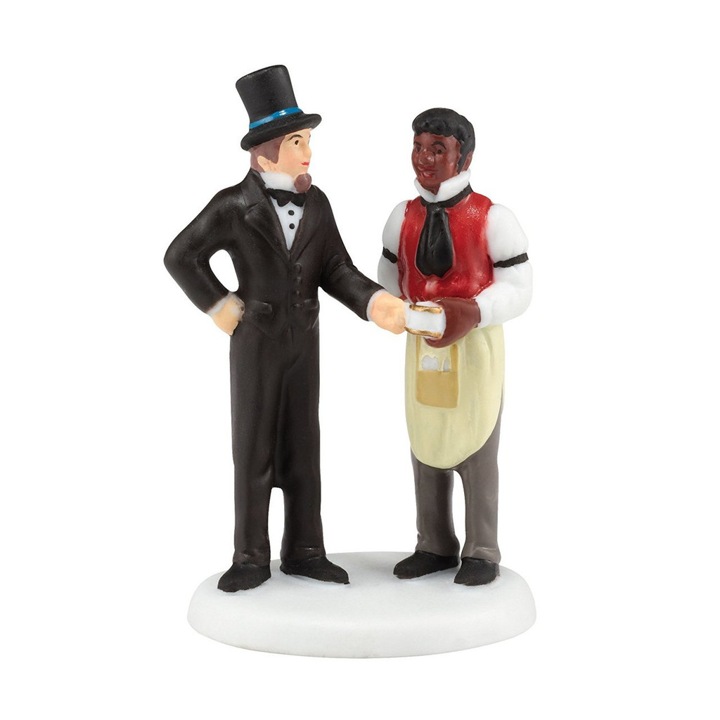 Department 56 New England Village Another Satisfied Customer Accessory, 0.98-Inch