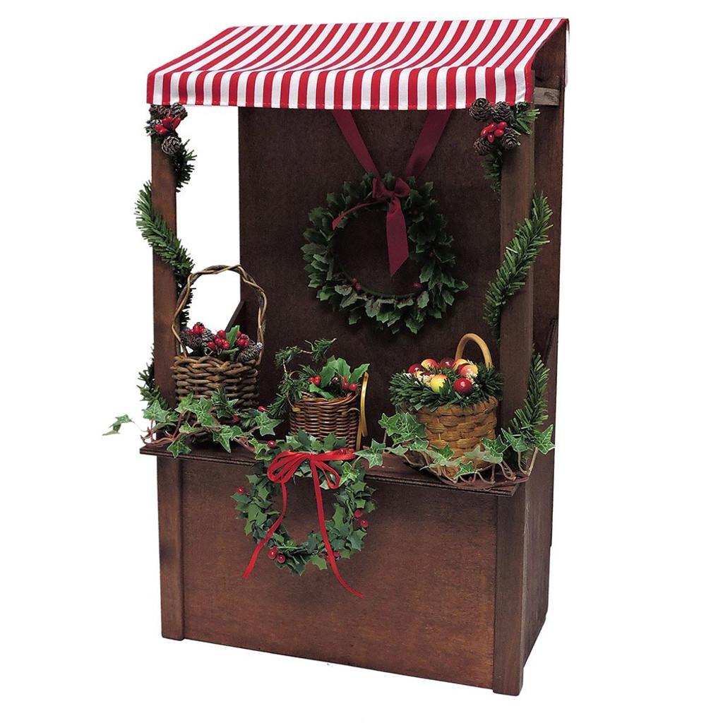 Byers Choice - Evergreen Market Stall