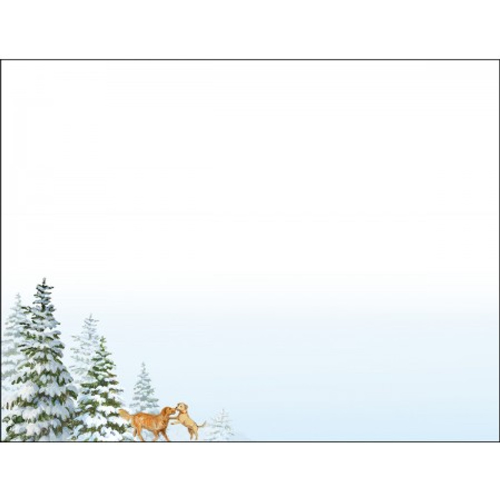 SLEIGH RIDE BOXED CHRISTMAS CARD