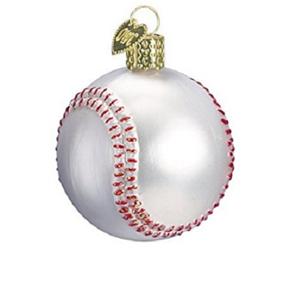 Old World Christmas -Baseball Ornament