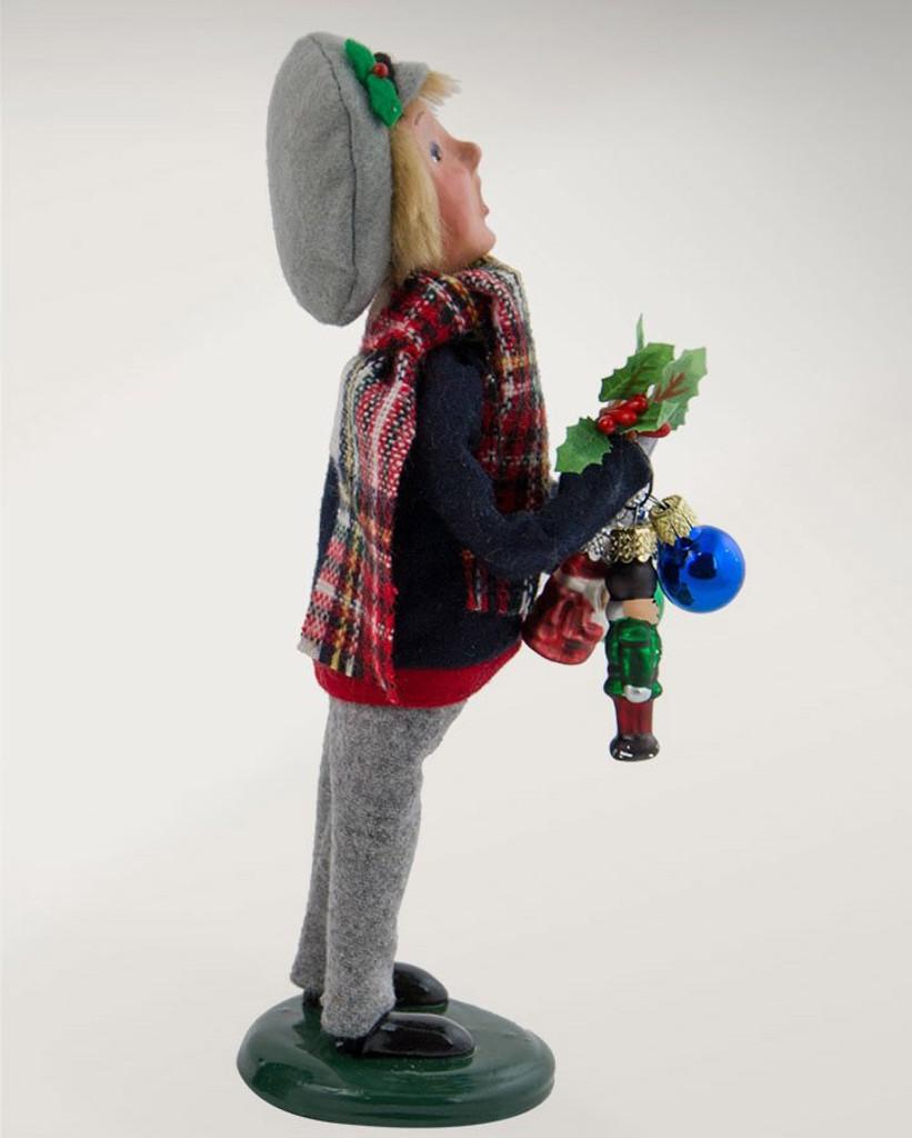 2017 Byers Choice - Ornament Boy