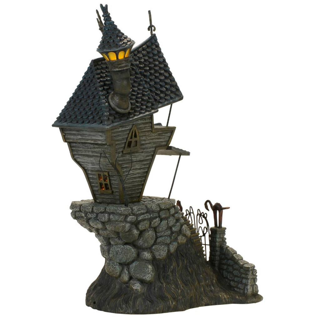 *2017* Department 56 - Nightmare Before Christmas Village - Jack Skellington's House Set of 2
