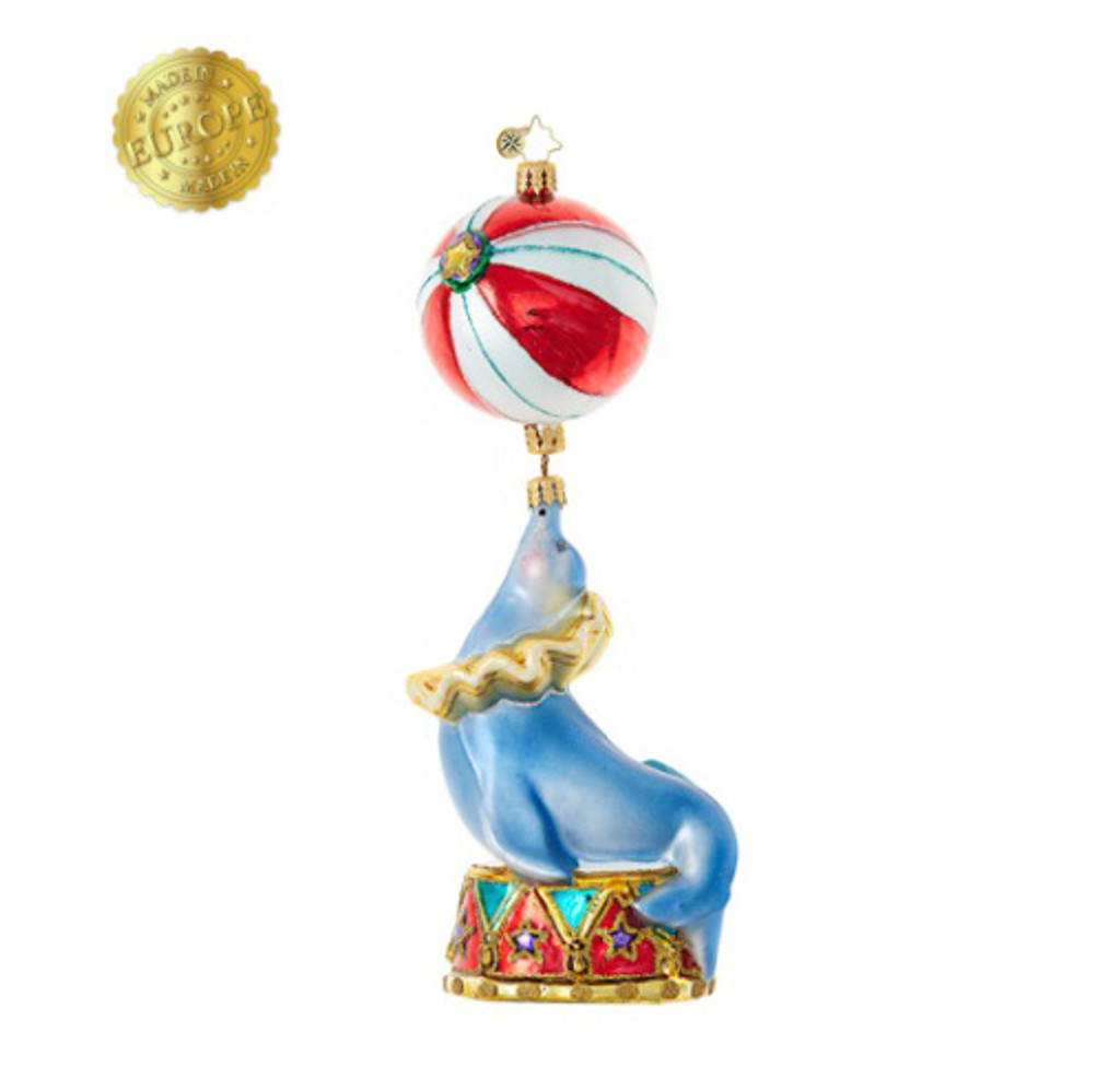 *2017* Christopher Radko - Circus Star Ornament