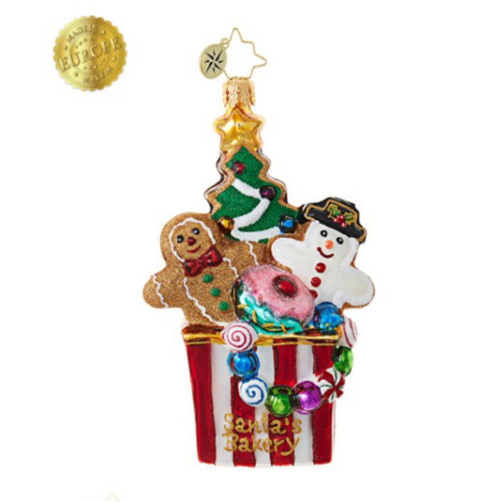 *2017* Christopher Radko - Christmas Cookie Comfort Ornament