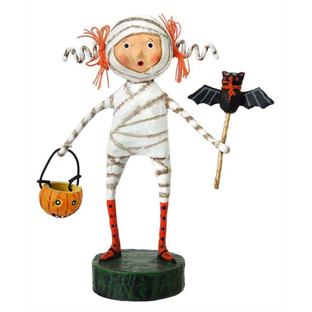 *New for 2017* Lori Mitchell Folk Art - Minnie Mummy Figurine