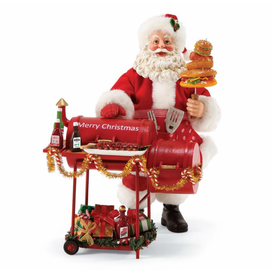 *New for 2017* Department 56 - Possible Dreams - Smokin' Hot Clothtique Santa