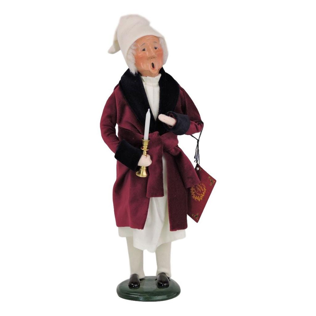 Byers' Choice Caroler Scrooge Christmas Figurine
