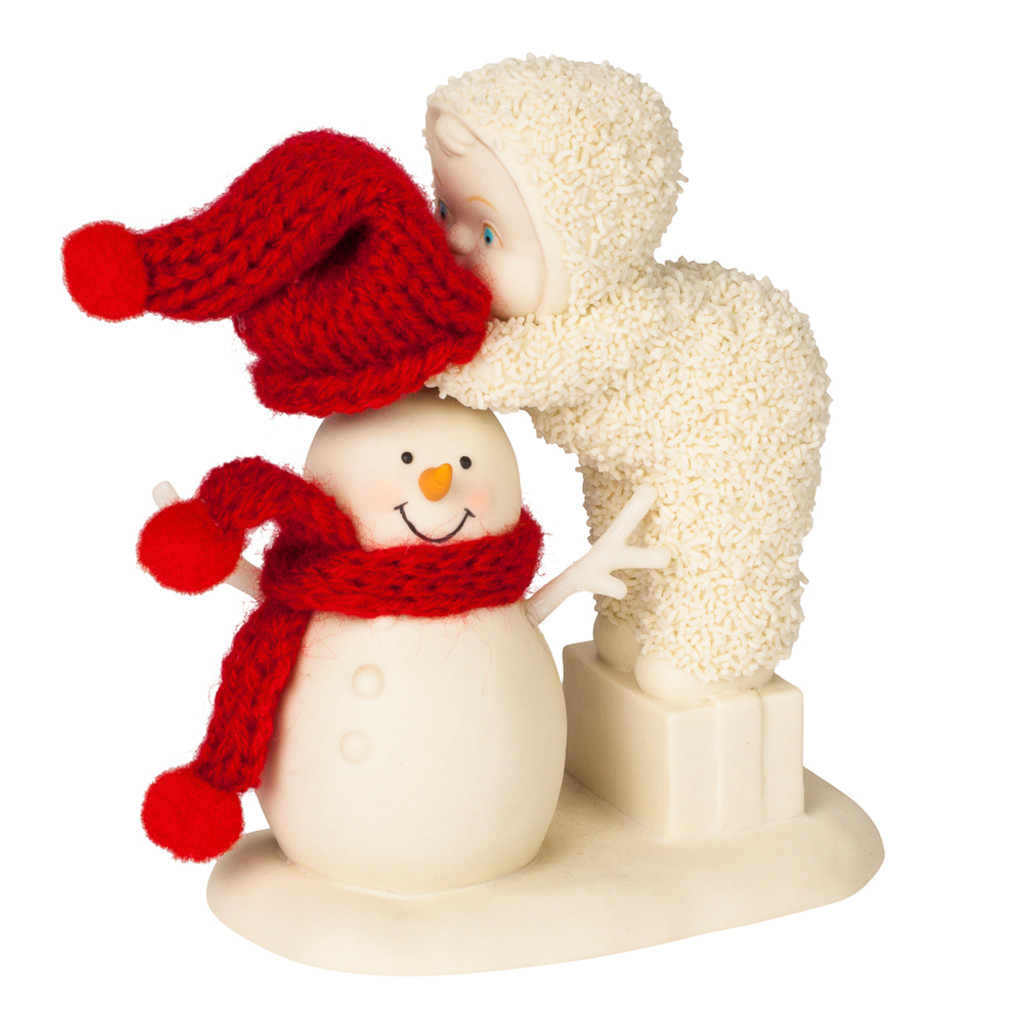 Department 56 - Snowbabies - Top It Off Snowman