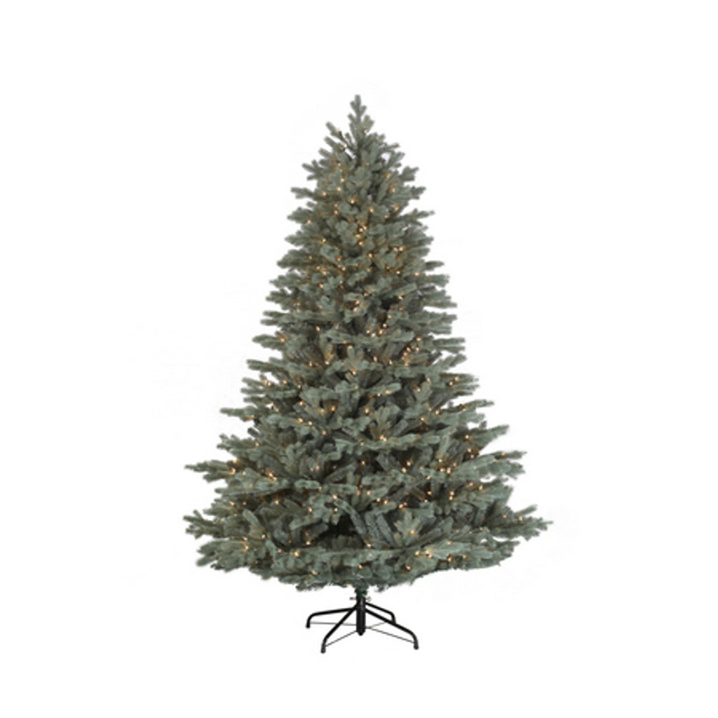 Santa's Own* 7.5 Foot Harrison Blue Spruce - Artifical Christmas Tree *FREE SHIPPING