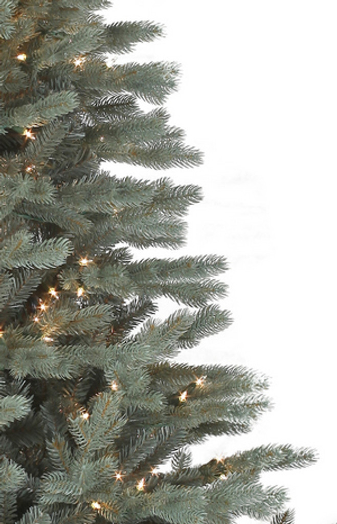 Santa's Own* 6.5 Foot Harrison Blue Spruce - Artifical Christmas Tree *FREE SHIPPING
