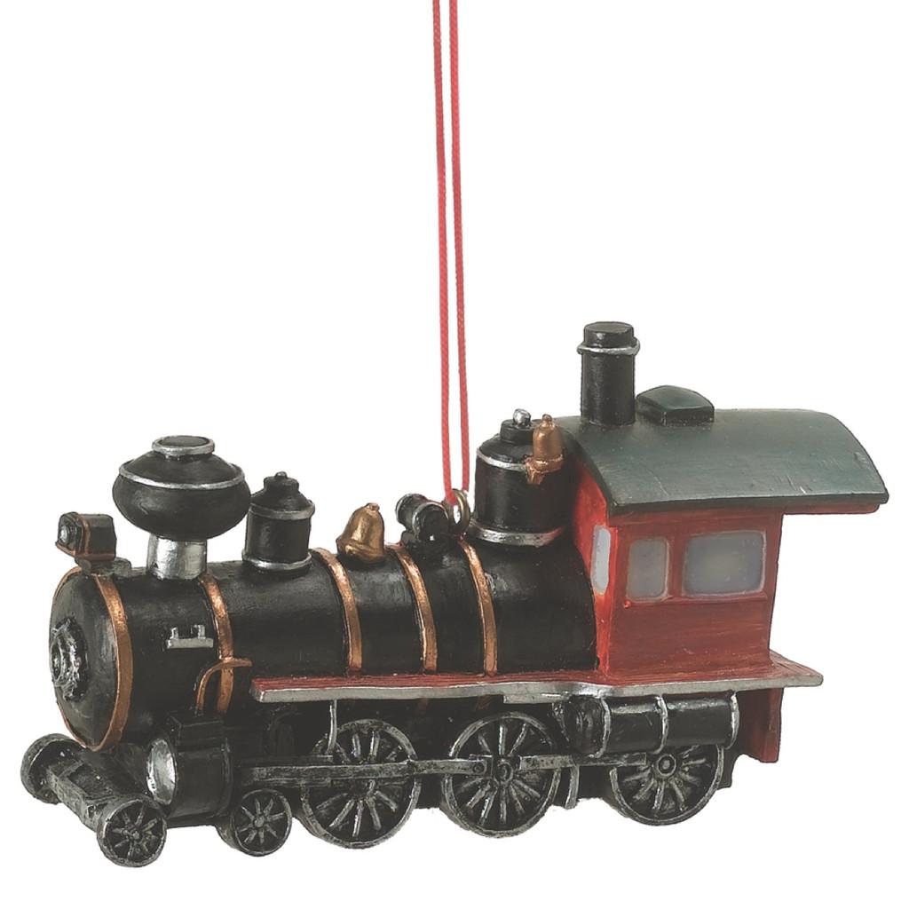 Old Fashion Steam Engine Train Christmas Ornament