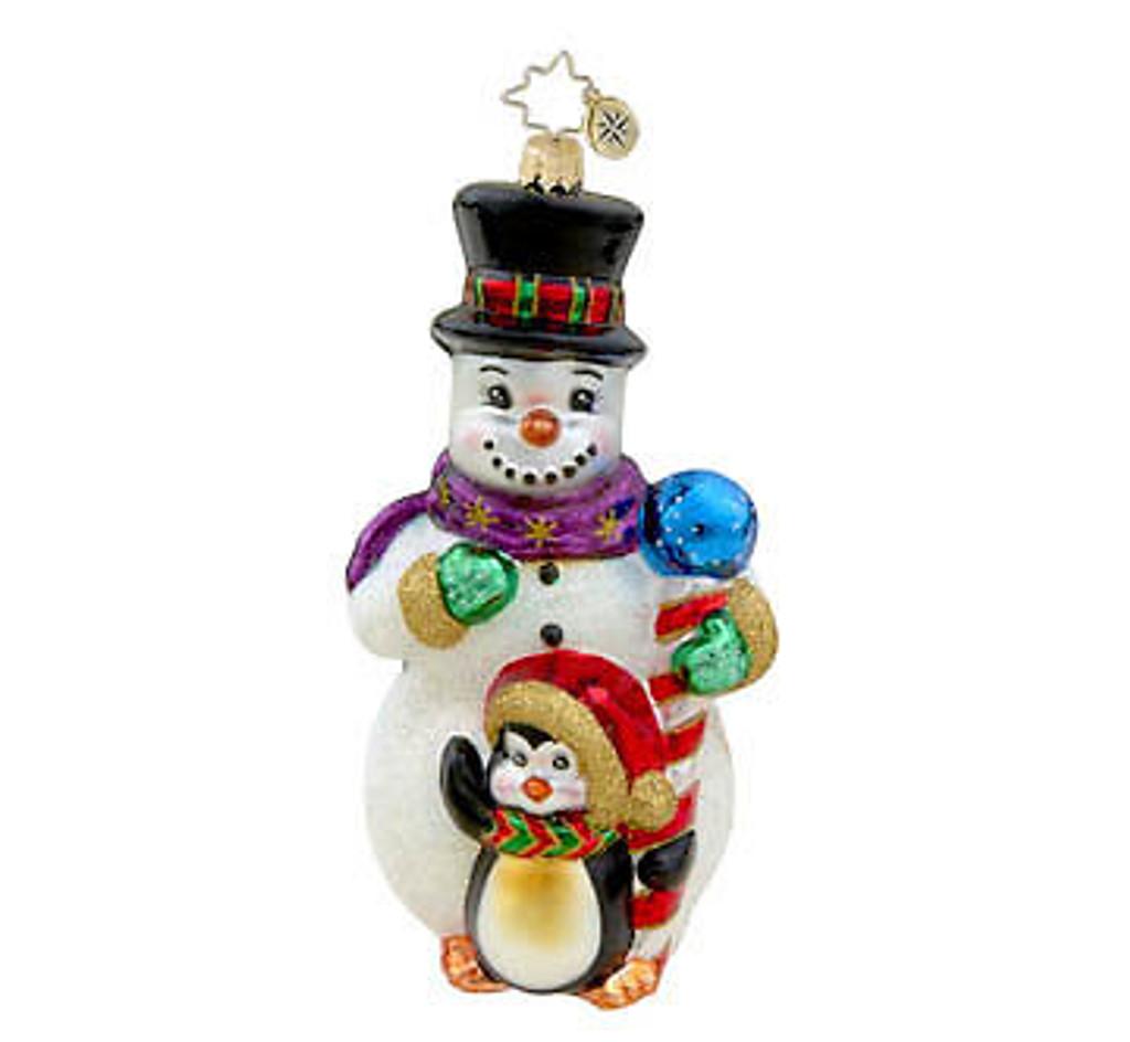 Radko - Frosty Fellows Snowman and Penguin