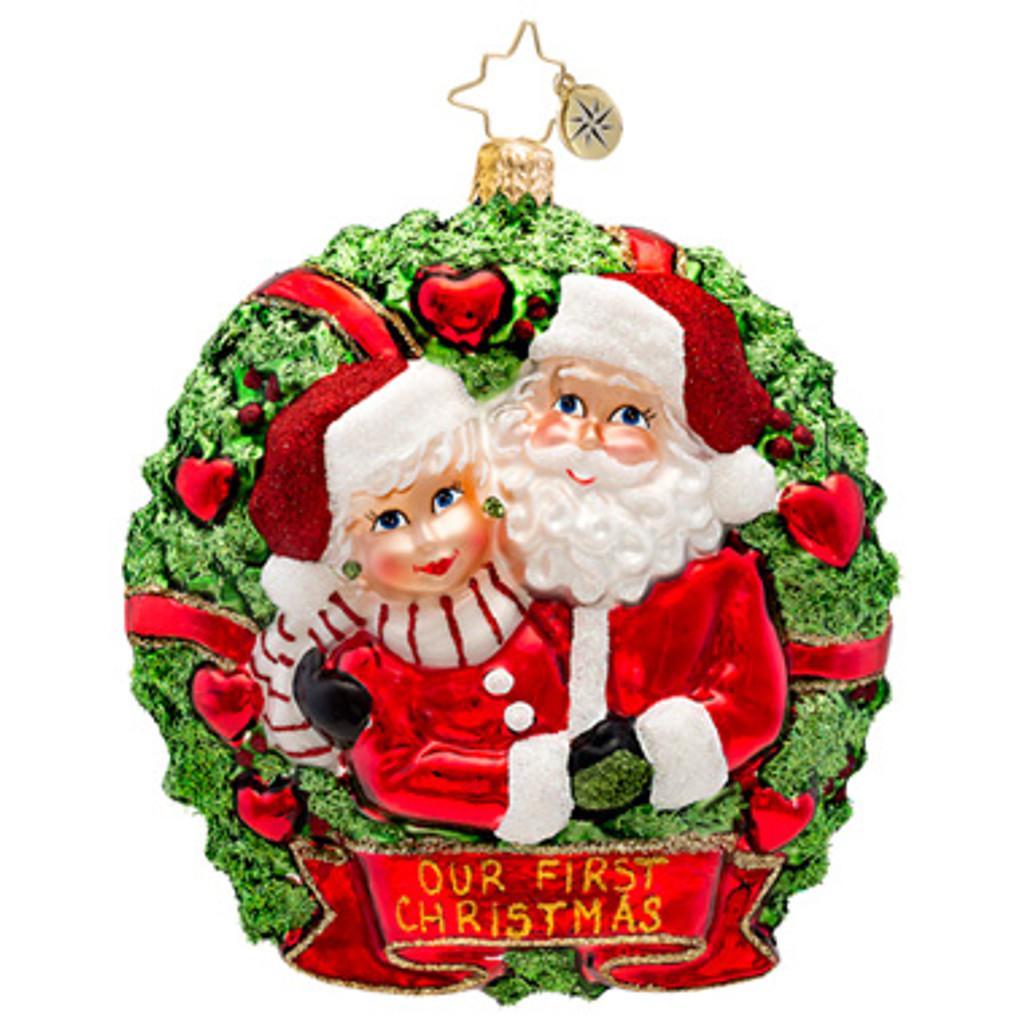 Radko - Loving Couple Ornament