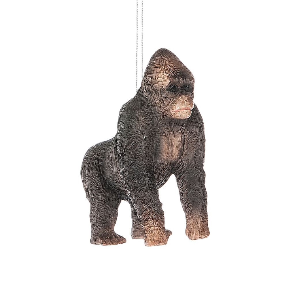 Black Gorilla Ornament