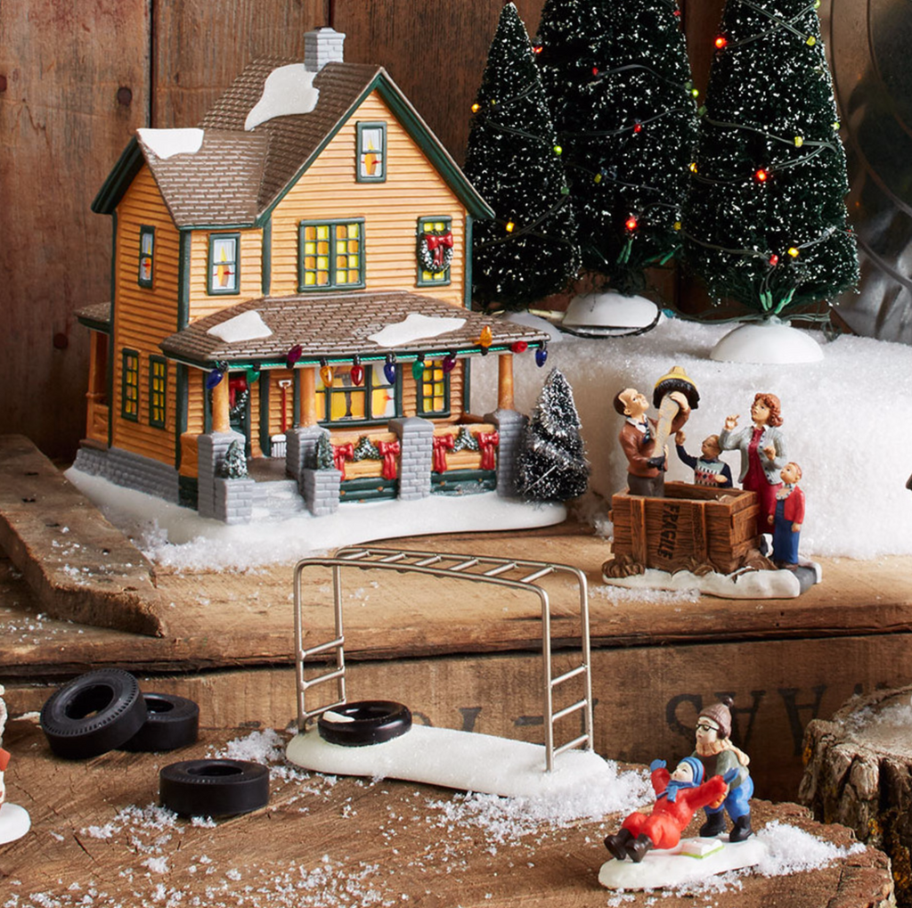 Department 56 - A Christmas Story Village - Ralphie's House