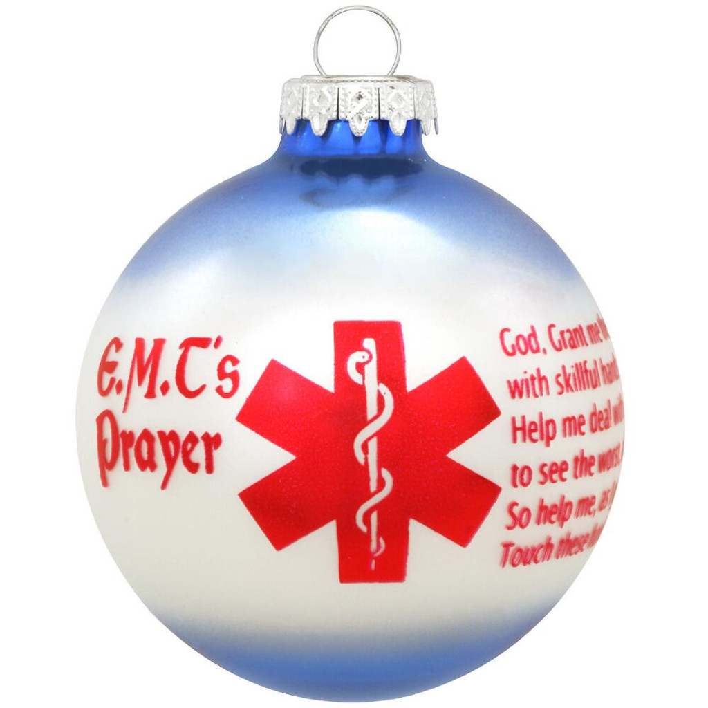E.M.T.'s Prayer Ornament