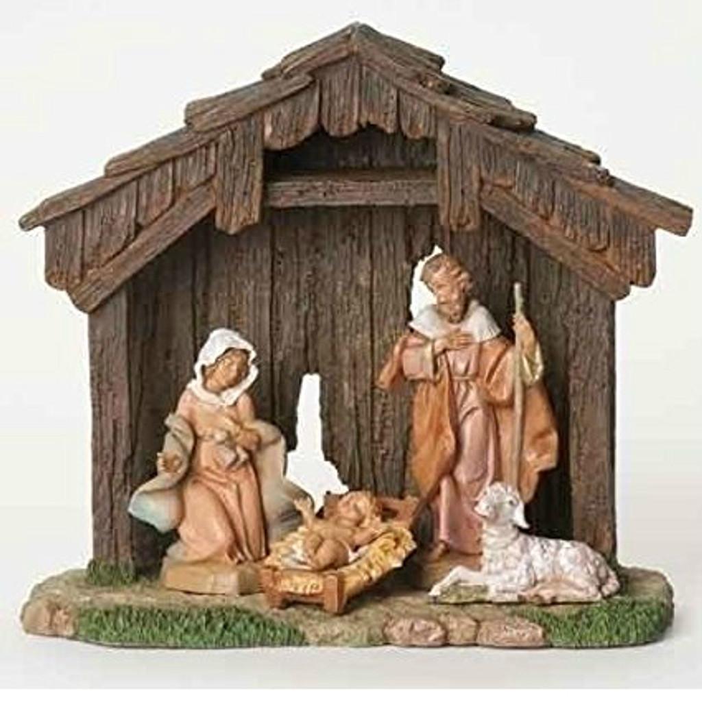 Fontanini 5-Inch Figure Nativity Set of 4