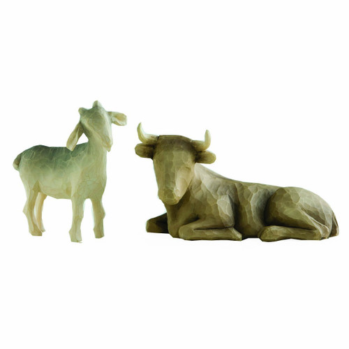 Willow Tree Ox & Goat