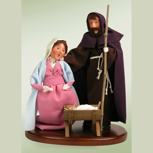 Byers' Choice Holy Family Figurine