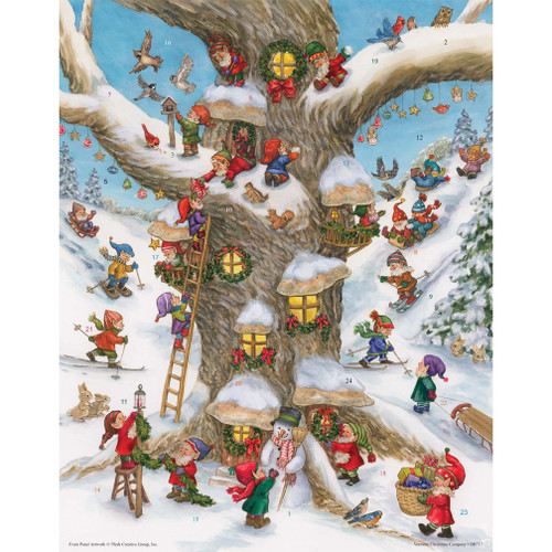 Delicious  'Magic Elf' Chocolate Advent Calendar