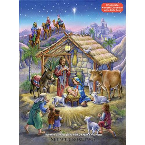 Religious 'Peaceful Prince' Chocolate Advent Calendar