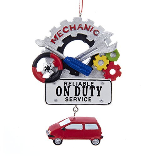 Mechanic On Duty Ornament