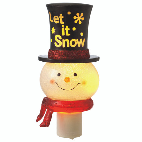 Santa Let It Snow - Night Light