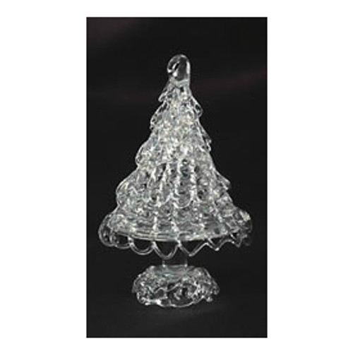 Spun Glass Tree Ornament