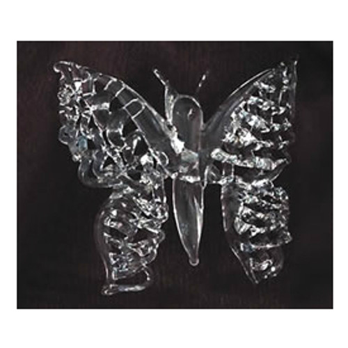 Spun Glass Butterfly Ornament