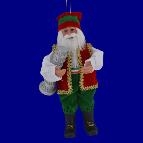 Italian Santa Claus Ornament