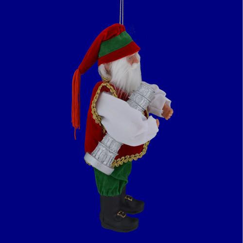 Italian Santa Claus Ornament