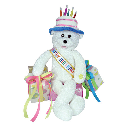 Chantilly Lane Birthday Bear - Sings Happy Birthday