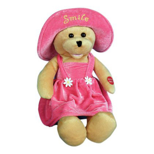 "Chantilly Lane - Animated Connie Talbot Smile Bear - Sings ""Smile"""