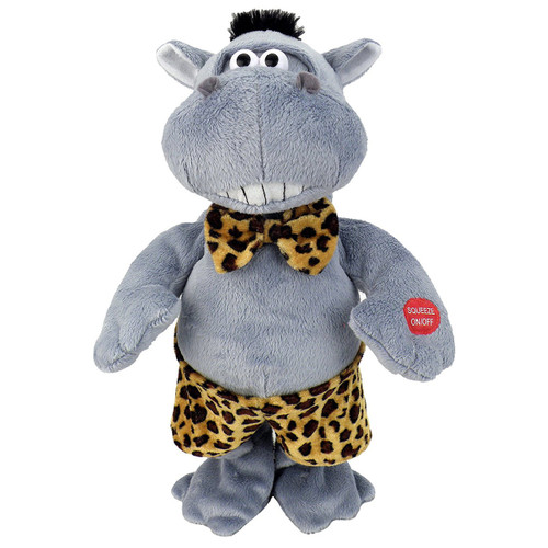 "Chantilly Lane - Hunky Hippo Sings ""Do Ya Think I am Sexy"" Plush"