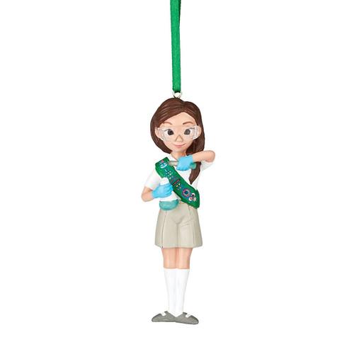 Girl Scouts Junior Scientist Ornament