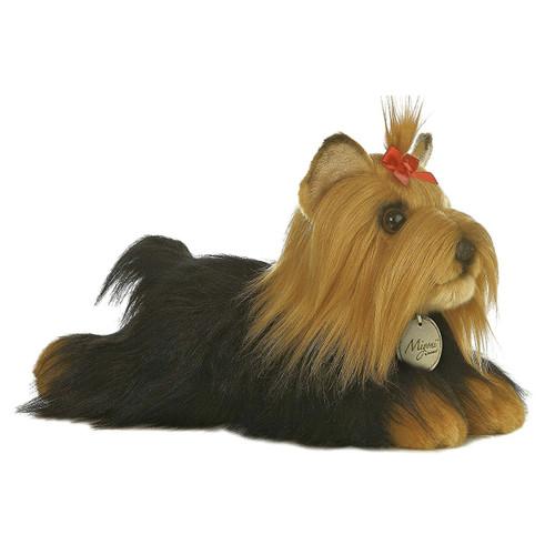 "Aurora World MiyonI Yorkshire Terrier with Brush Plush Toy 11"""