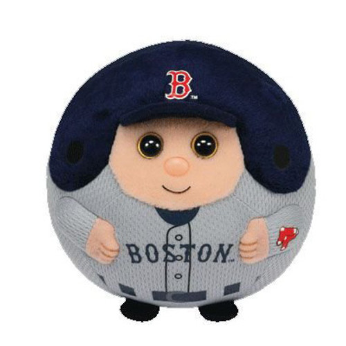 Beanie Ballz Boston Red Sox Plush Soft Toy Ball Small - 5 inch
