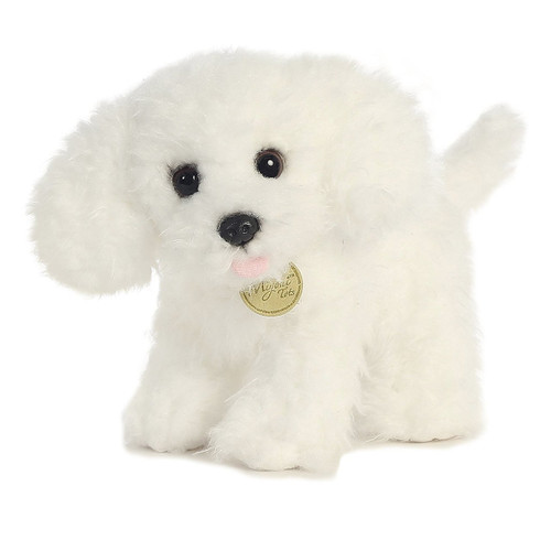 Aurora World  9 inch Tots Bichon Frise Puppy Plush