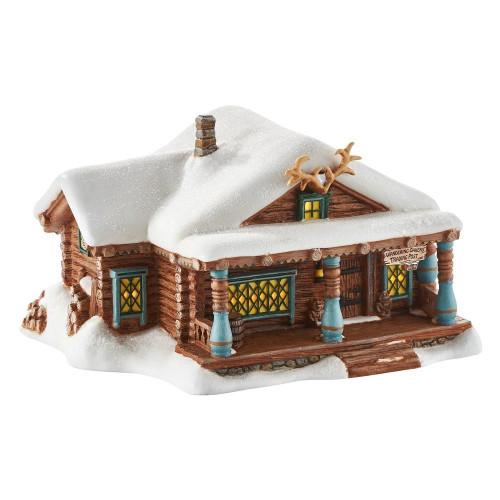 Department 56- Frozen Village- Wandering Oaken's Trading Post
