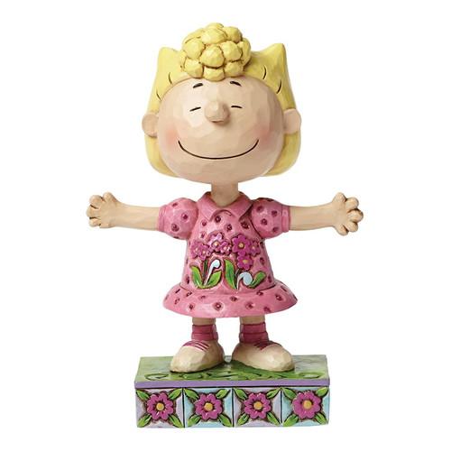 """Jim Shore- Peanuts - """"Sassy Sally"""" Sally Brown"""
