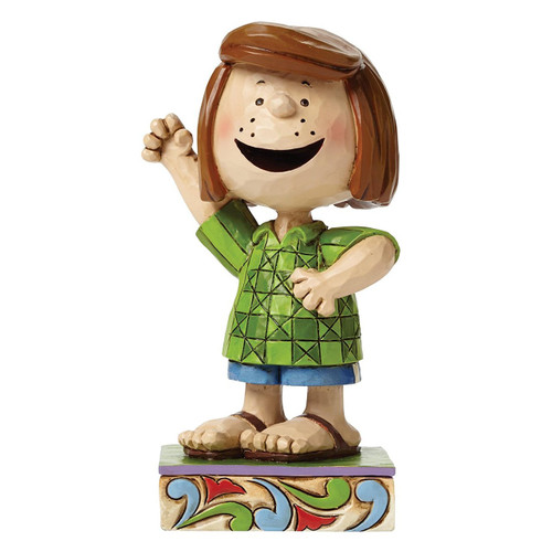 "Jim Shore- Peanuts - ""Fun Friend"" Peppermint Patty"