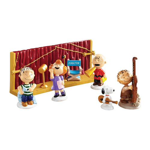 "Department 56 - Peanuts ""Getting Ready for Christmas"" Set of 6"