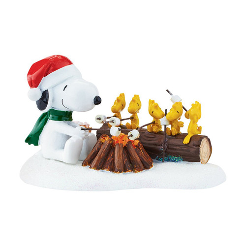 Department 56 - Peanuts Village - Campfire Buddies