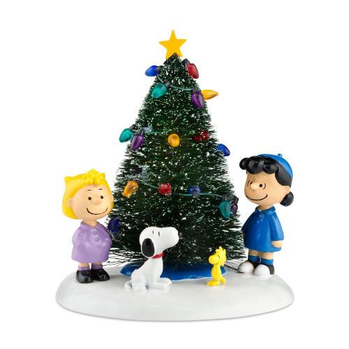 Department 56 - Peanuts Village - O' Christmas Tree