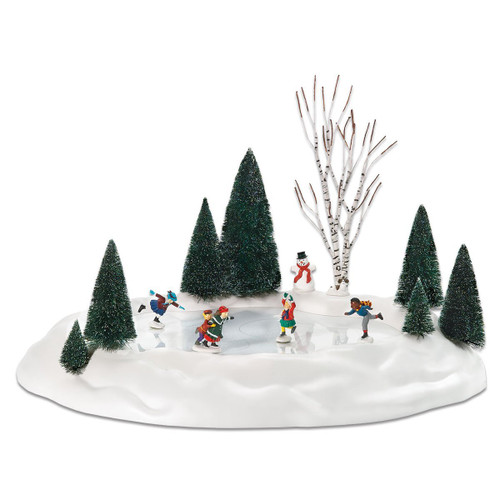 Department 56--Animated Skating Pond