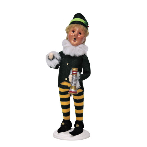 Byers Choice - Frankie Elf With Horn